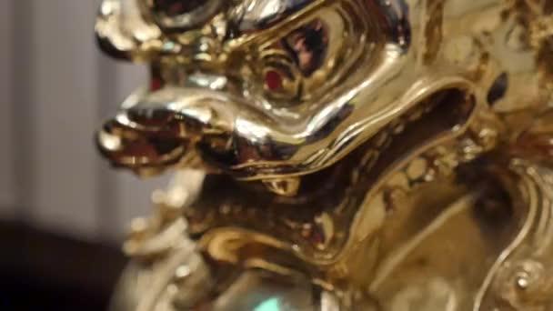 Kínai (vietnami) Aranysárkány szobor