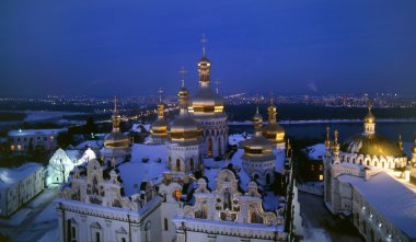 Dormition Cathedral  night view
