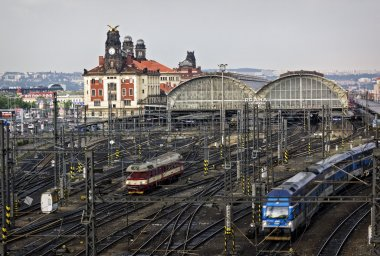 Railway station, Prague