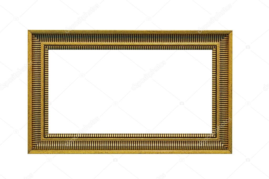 Panorama-Rahmen isoliert — Stockfoto © Bradatata #101069412
