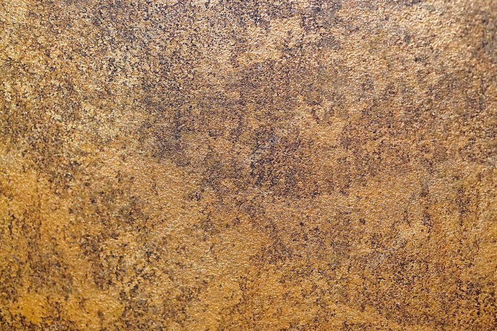Golden Paint Rustic Wall Texture Background Photo By Bradatata