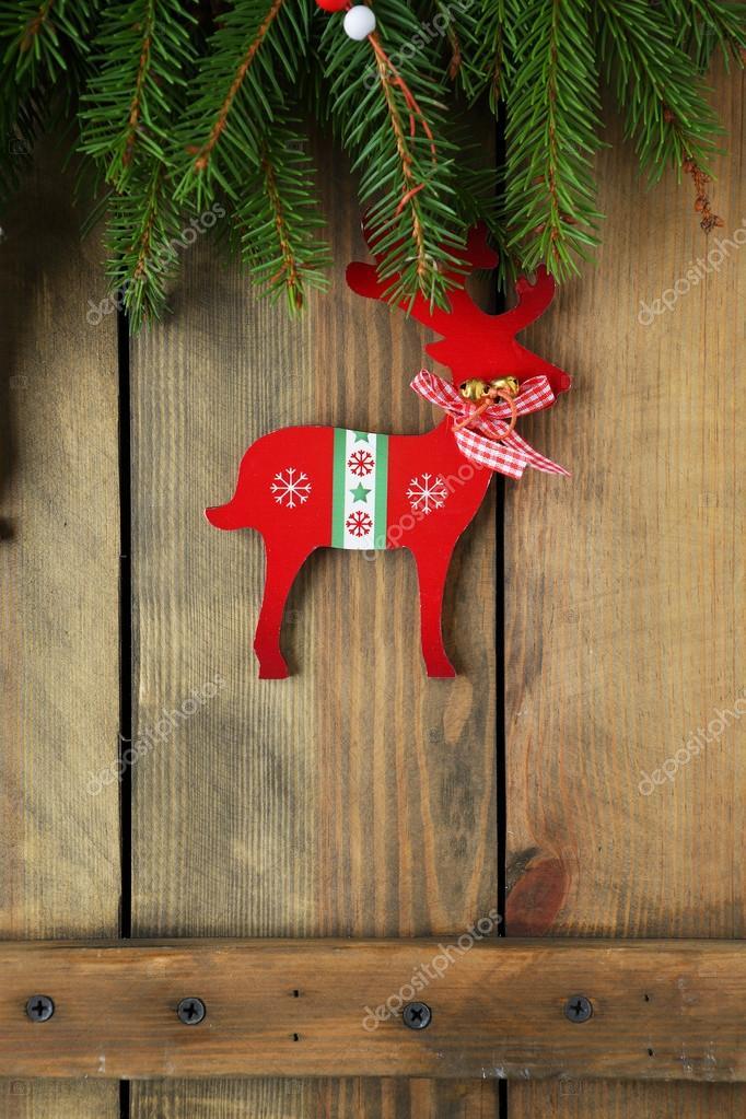 antiker Weihnachtsschmuck Hirsch — Stockfoto © olhaafanasieva #89241632
