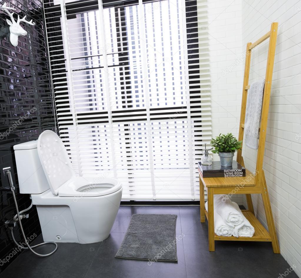 Modern toilet — Stock Photo © phaendin #60190075