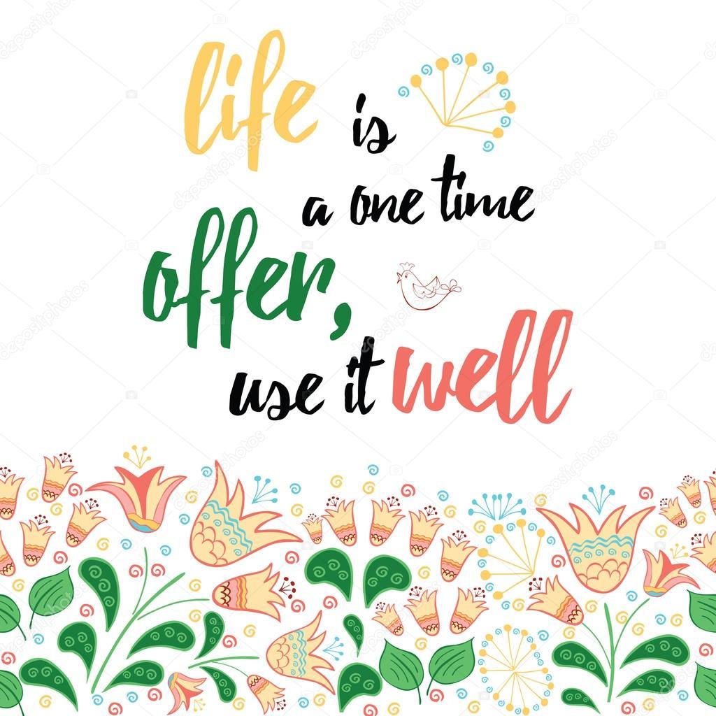 Цитаты про жизнь и цветы