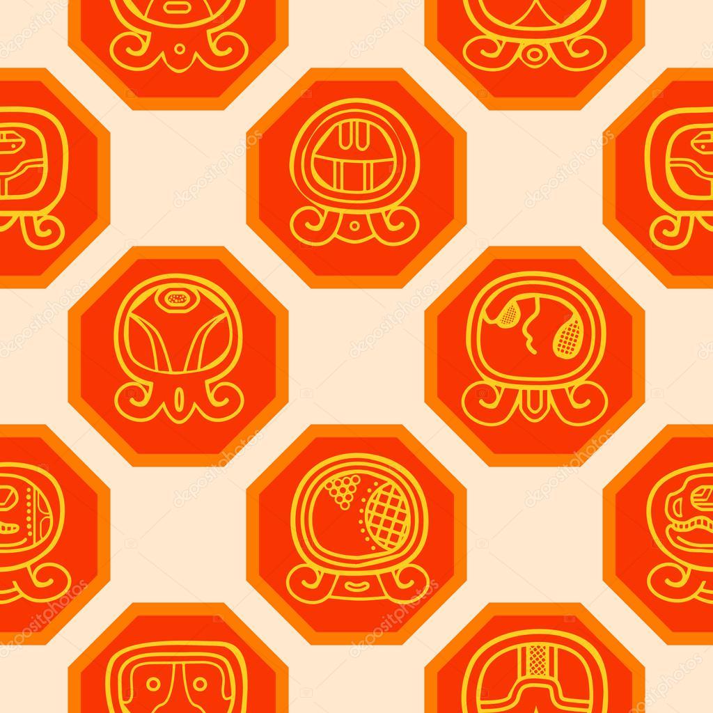 Il Calendario Maya.Priorita Bassa Senza Giunte Con Il Calendario Maya Che Si