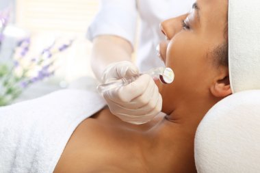 Needle Mesotherapy, face lift