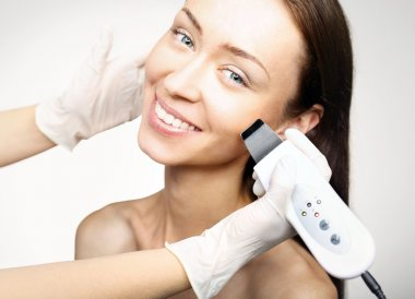 Cavitation peeling, beauty treatment