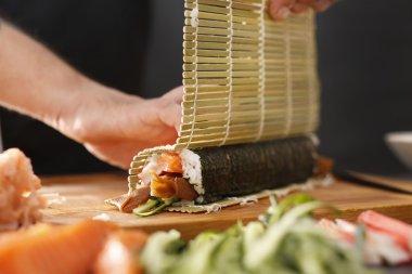 Japanese restaurant, sushi