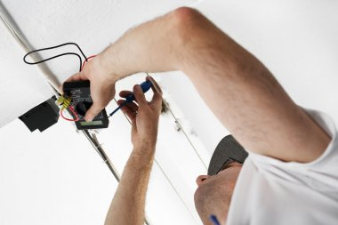 Installation of electrical wiring