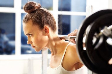 Training with free weights, fitness