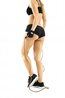 Jump rope, exercise to slim