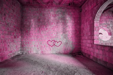 The Pink room in bulding