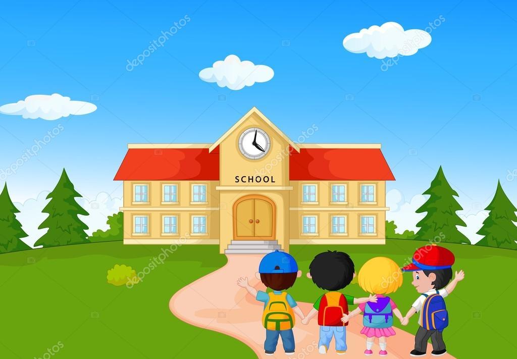 Imágenes: Caricatura De Escuela