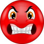Zornigen Smiley Emoticon cartoon