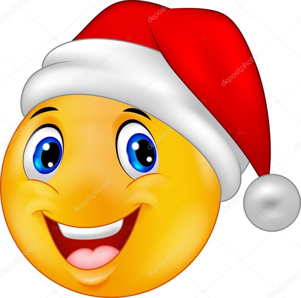 Smiling smiley motic ne dessin anim dans un chapeau - Dessin avec emoticone ...