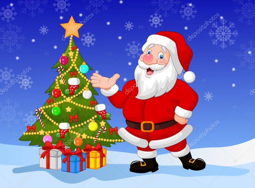 Fondos Navidad Animados: Imágenes: Papa Noel Navidad