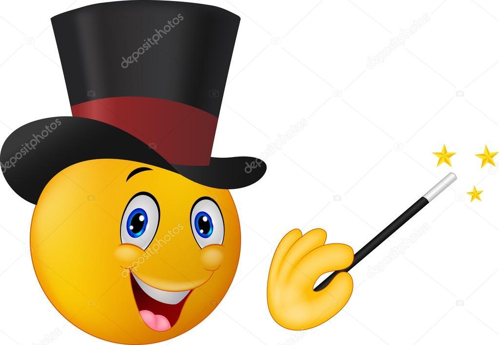 Image result for émoticone chapeau de magicien