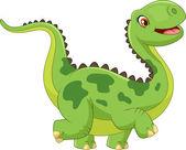 Fotografie Cartoon happy dinosaur