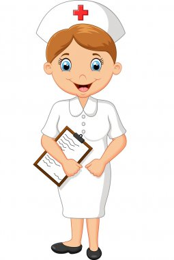 Cartoon nurse