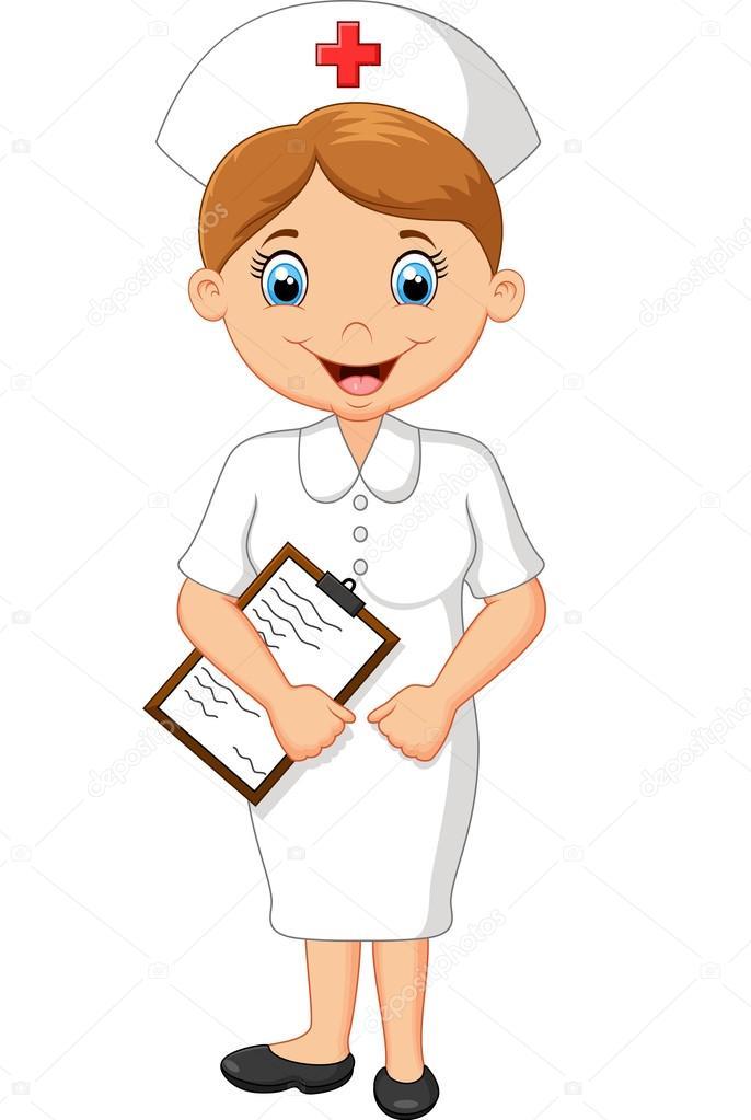 Imagenes De Enfermeras En Caricatura