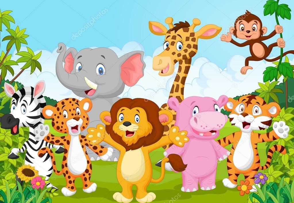 Dibujos: Animales De La Selva