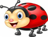 Photo Cute ladybug cartoon