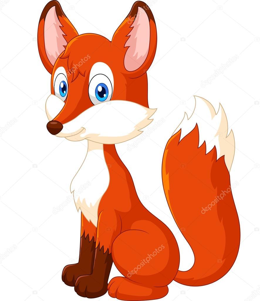 Dessin animé renard
