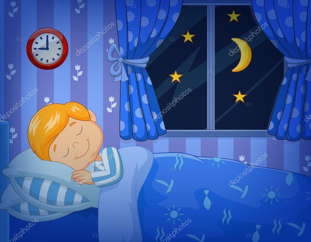 Dibujos: Niños Durmiendo Animados