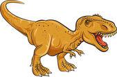 Fotografia Tyrannosaurus Rex personaggio isolato su priorità bassa bianca