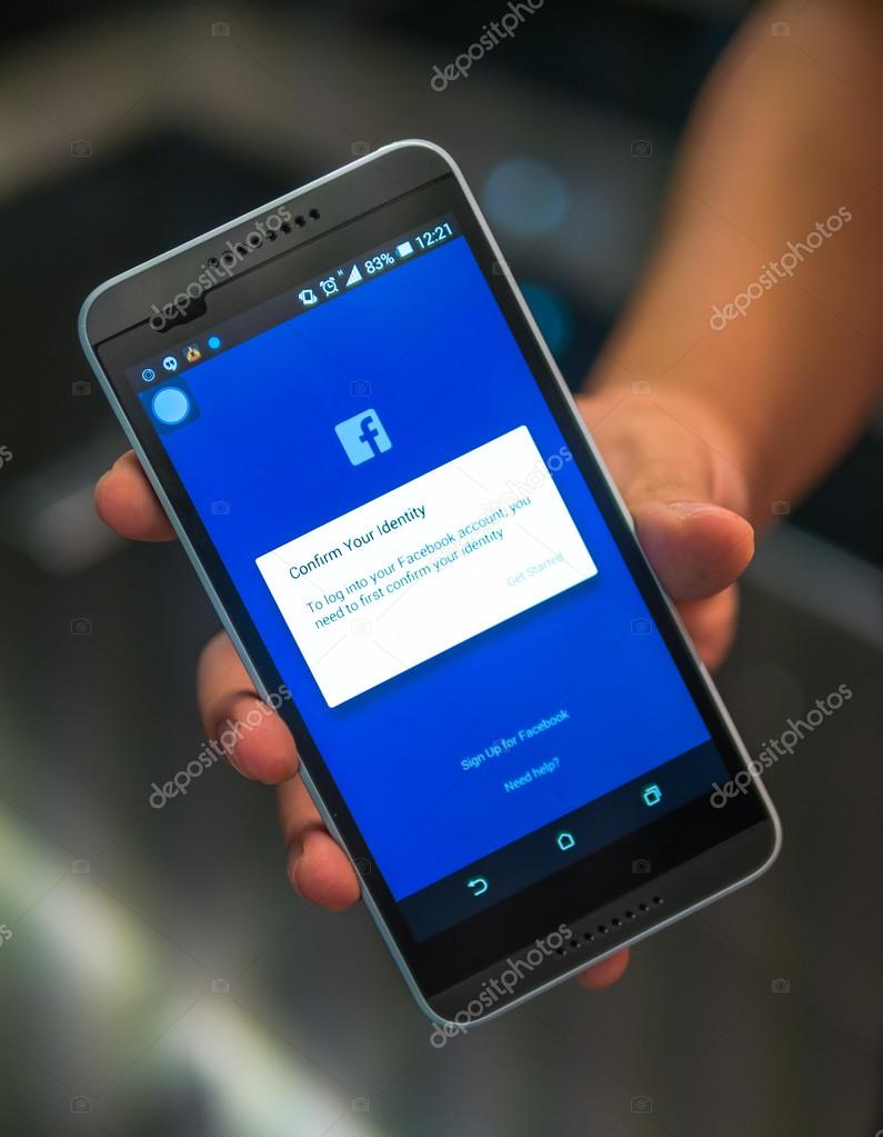 confirm facebook account without mobile phone