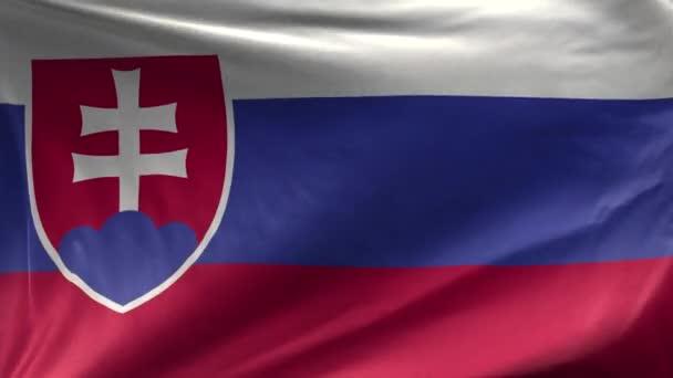 Vlajka Slovenska smyčka 3D