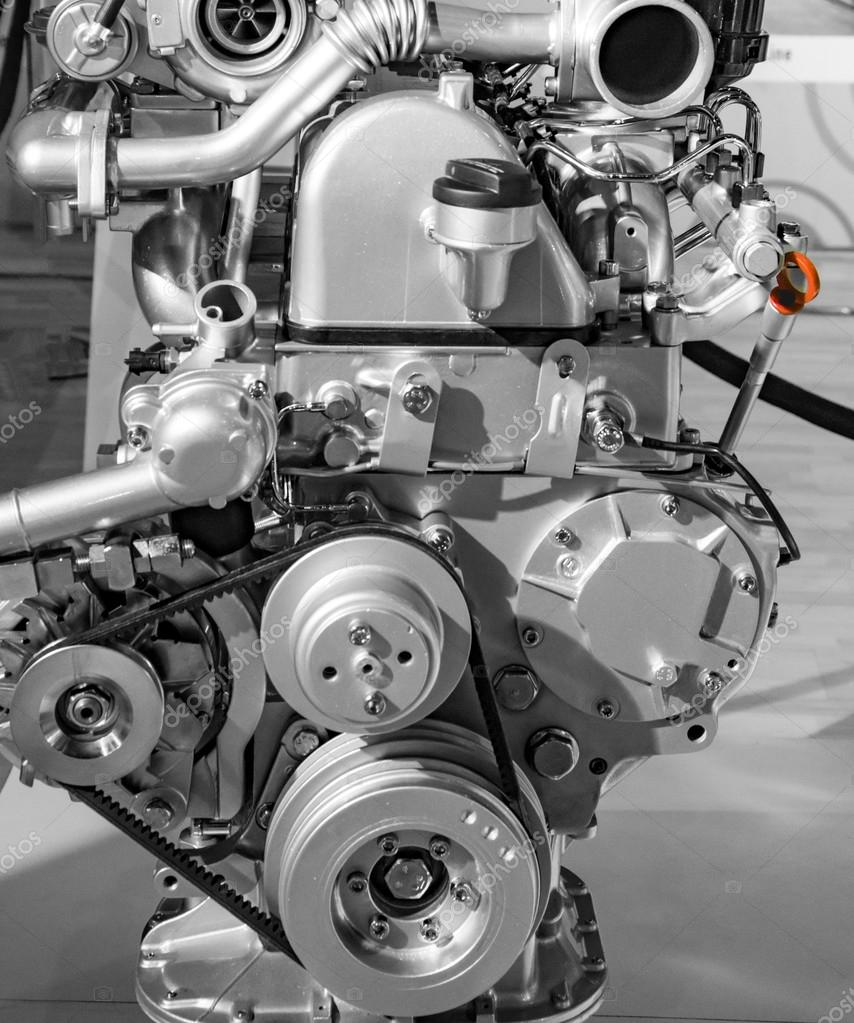 Rotierenden Teile von Auto-Motor — Stockfoto © promicrostockra ...