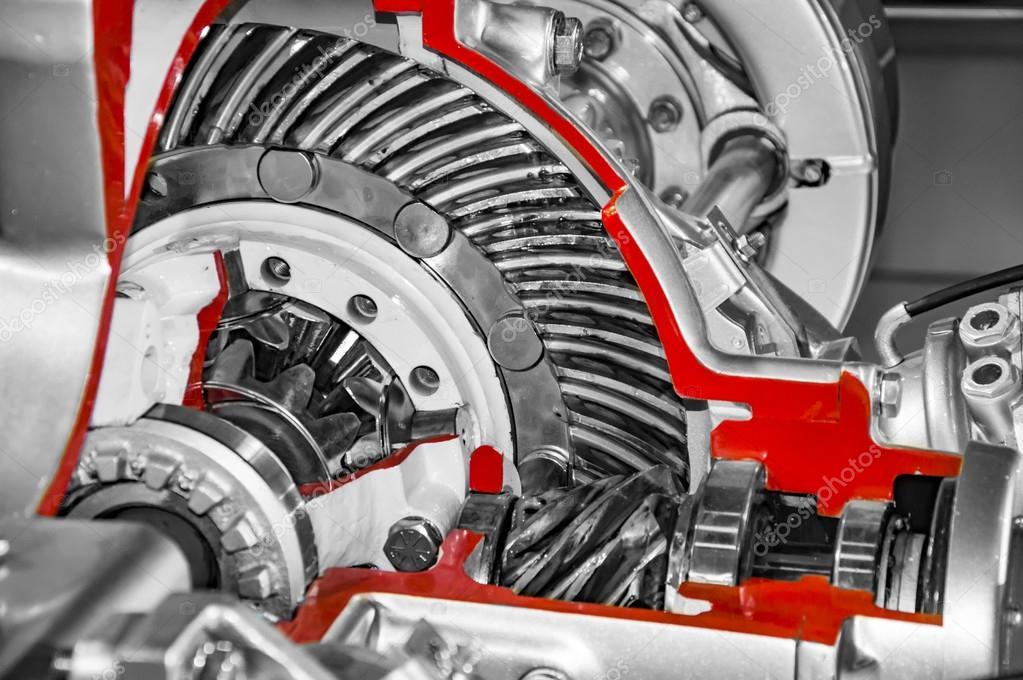 Sistema de Axel del carro y de otras partes — Fotos de Stock ...