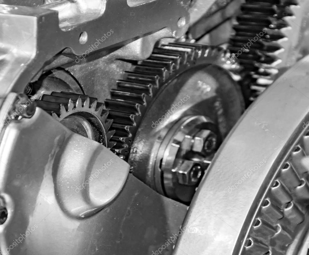 Versteckte Teile von Auto-Motor — Stockfoto © promicrostockra #107746734