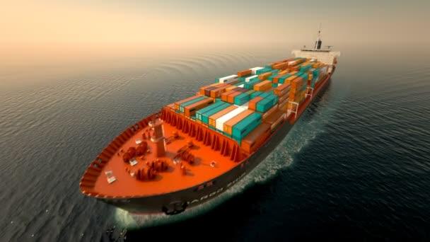 Nákladní loď doprava