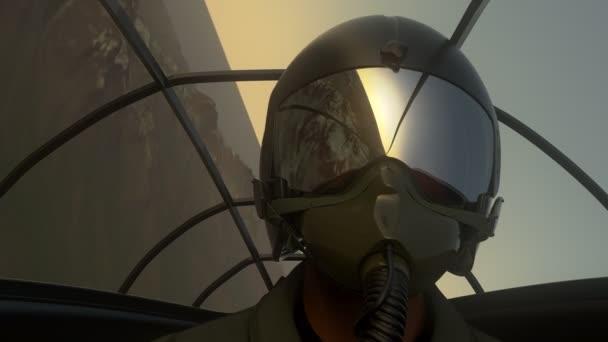 Stíhací Pilot za letu