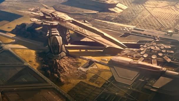 futuristické vojenské základny