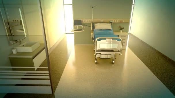 Nemocniční pokoje s postelí velikosti King
