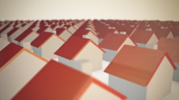 houses with red tops