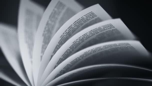 Obrací stránky knihy