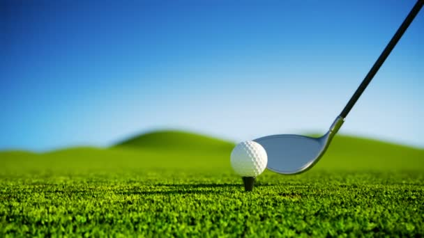 Zpomalený pohyb Golf úder