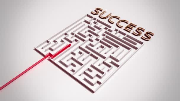 Najít cestu k úspěchu v spletitém bludišti