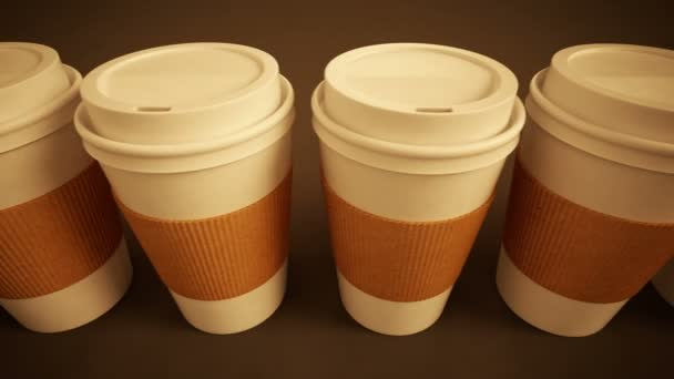 coffee cups with brown holding stripe