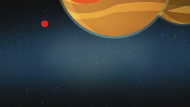 Jupiter v sluneční soustavě