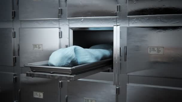 Mrtvé tělo v márnici