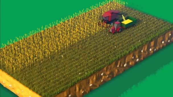 Kombajn, sklizeň v zemědělské oblasti