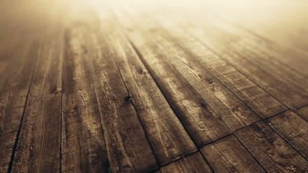 animace z dřevěných prken
