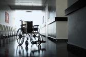Invalidní vozík v nemocnici