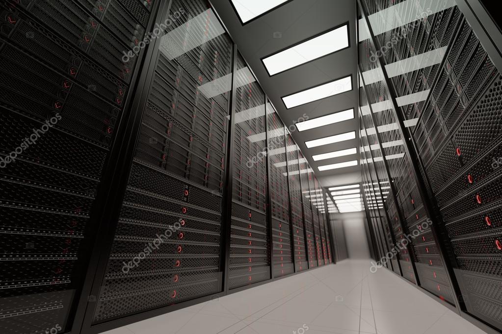Big Data Servers Room