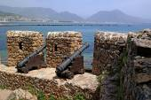 Guns Alanya Castle defended the city from enemies